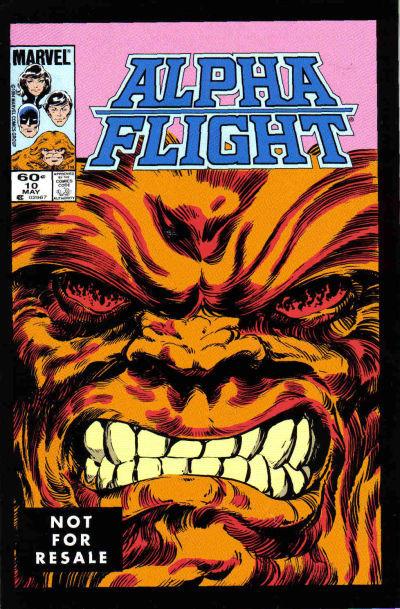 Couverture de Alpha Flight (Marvel comics - 1983) -10a- Blood battle