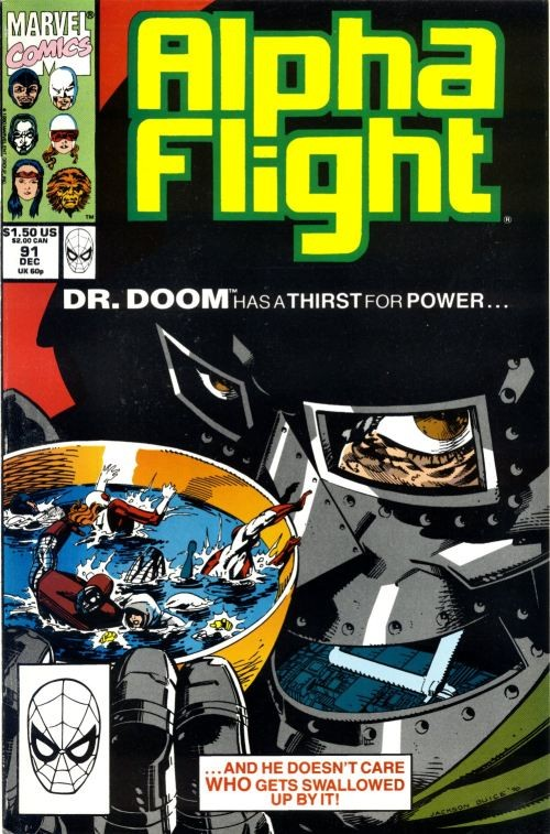 Couverture de Alpha Flight (Marvel comics - 1983) -91- A thirst for power