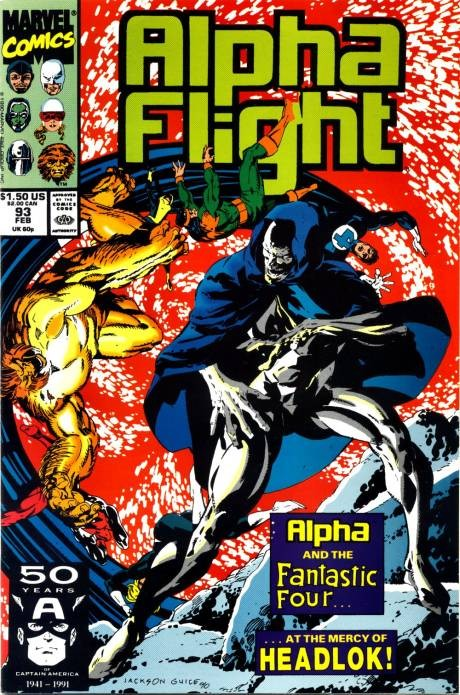 Couverture de Alpha Flight (Marvel comics - 1983) -93- Playgrounds of the mind