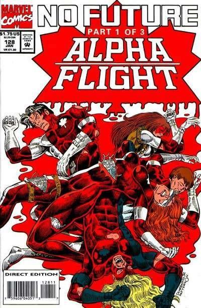 Couverture de Alpha Flight (Marvel comics - 1983) -128- Perfect world!