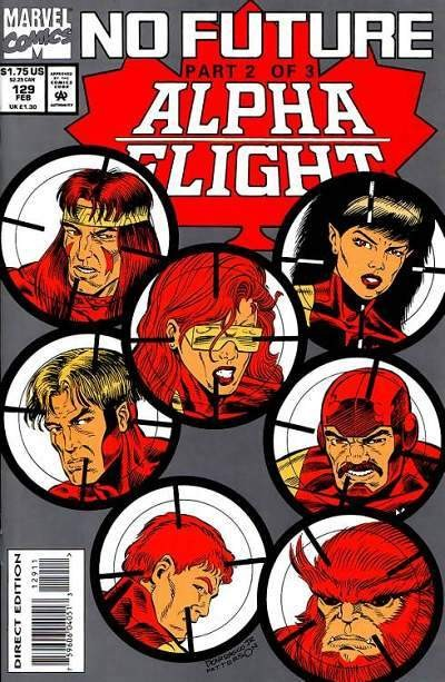 Couverture de Alpha Flight (Marvel comics - 1983) -129- Ordeal!