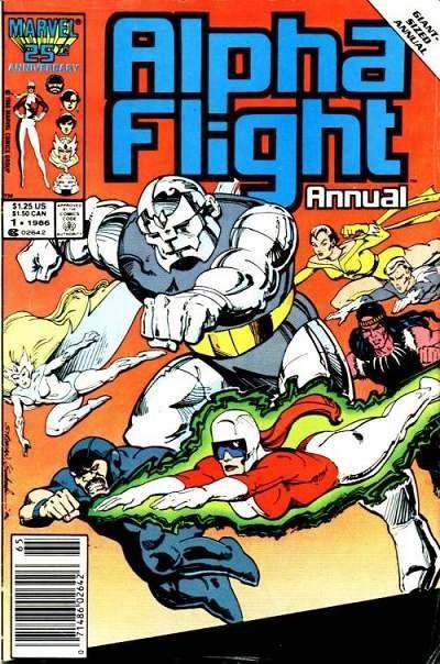 Couverture de Alpha Flight (Marvel comics - 1983) -AN01- Homebody
