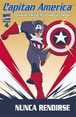 Couverture de Capitán América (Vol. 5) -4- Señores de la guerra (1)