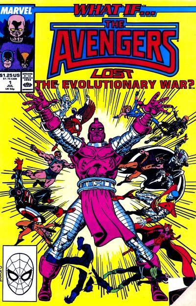 Couverture de What If? vol.2 (1989) -1- What if... the Avengers had lost the evolutionary war?