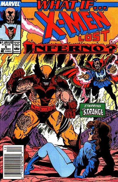 Couverture de What If? vol.2 (1989) -6- What if... the x-men had lost inferno?