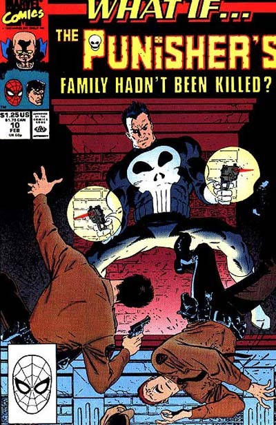 Couverture de What If? vol.2 (1989) -10- What if... the punisher's family had not been killed?