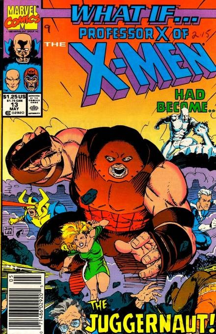 Couverture de What If? vol.2 (1989) -13- What if... professor x had become the juggernaut?