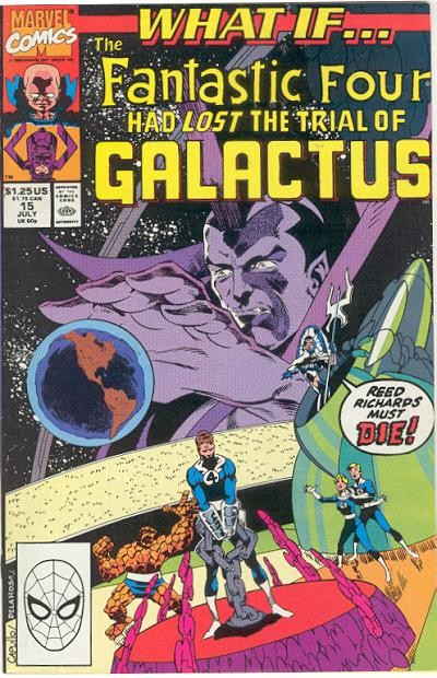 Couverture de What If? vol.2 (1989) -15- What if... the fantastic four had lost the trial of galactus??