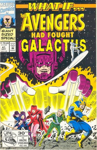 Couverture de What If? vol.2 (1989) -41- What if... the avengers had fought galactus?