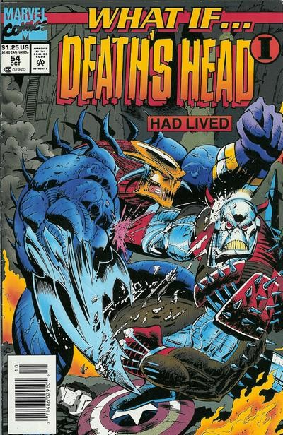 Couverture de What If? vol.2 (1989) -54- What if... death's head one had lived?