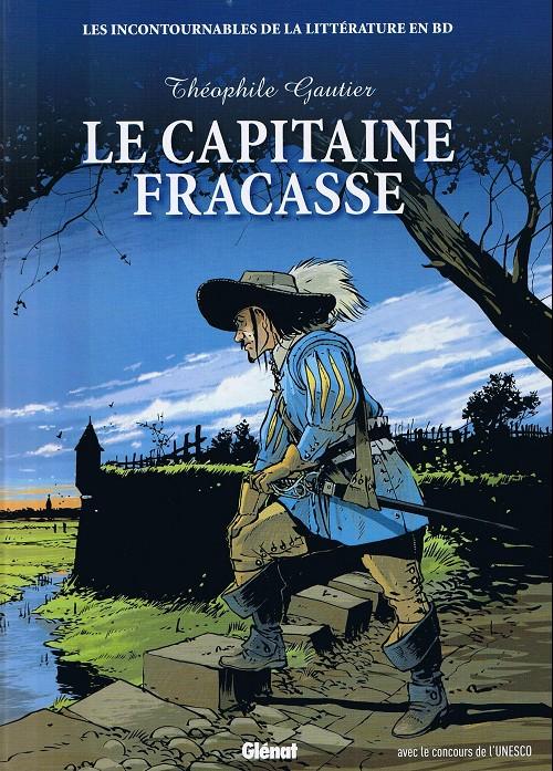 Couverture de Les incontournables de la littérature en BD -11- Le Capitaine Fracasse