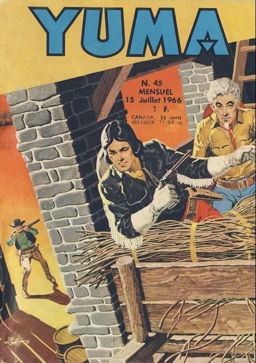 Couverture de Yuma (1re série) -45- La croix des mormons