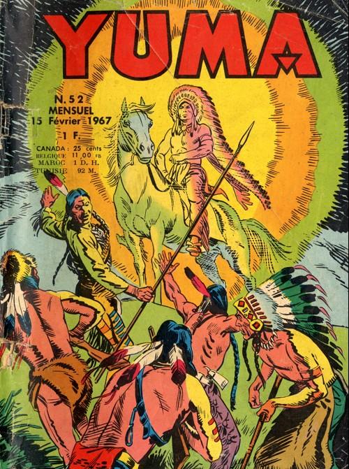 Couverture de Yuma (1re série) -52- Le rocher de l'apparition
