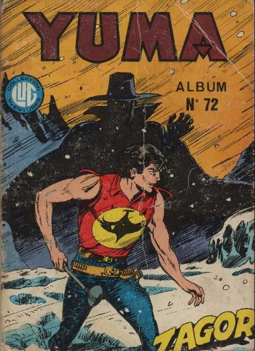 Couverture de Yuma (1re série) -Rec072- Album N°72 (du n°267 au n°269)