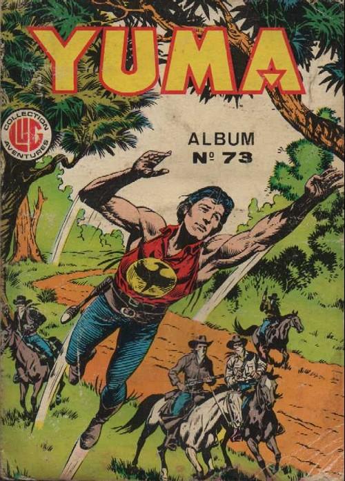 Couverture de Yuma (1re série) -Rec073- Album N°73 (du n°270 au n°272)