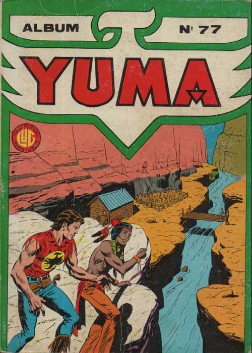 Couverture de Yuma (1re série) -Rec077- Album N°77 (du n°282 au n°284)