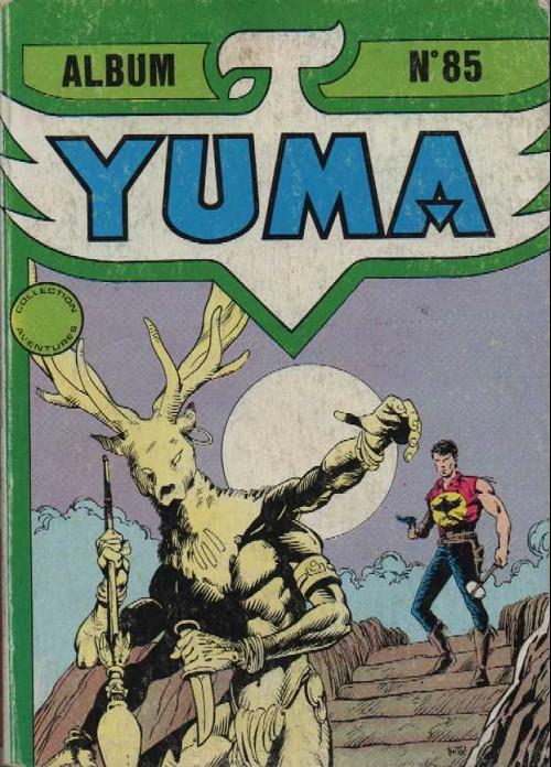 Couverture de Yuma (1re série) -Rec085- Album N°85 (du n°306 au n°308)