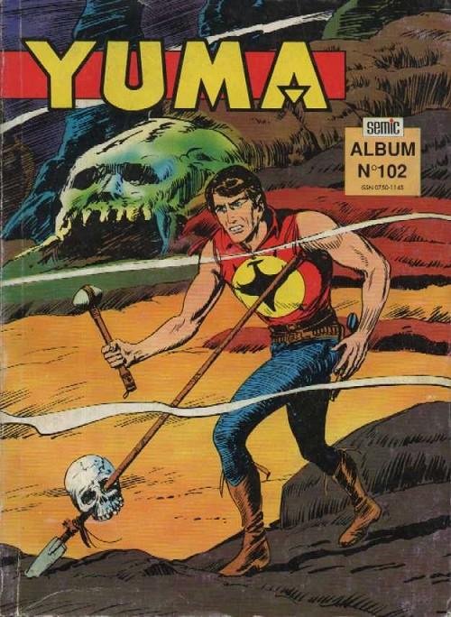 Couverture de Yuma (1re série) -Rec102- Album N°102 (du n°357 au n°359)