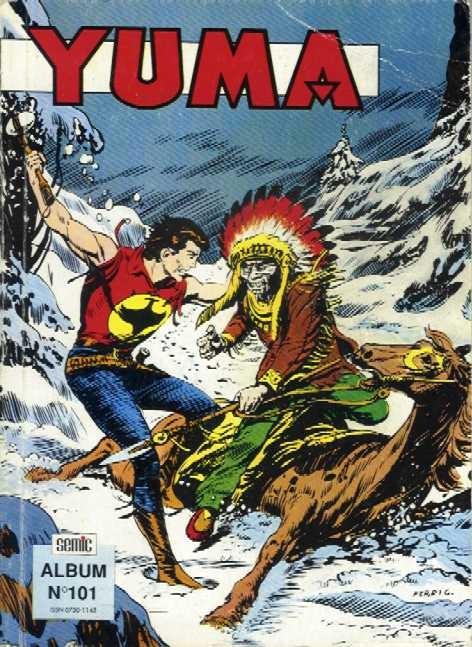 Couverture de Yuma (1re série) -Rec101- Album N°101 (du n°354 au n°356)