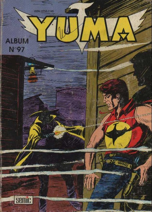 Couverture de Yuma (1re série) -Rec097- Album N°97 (du n°342 au n°344)