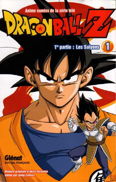 Couverture de Dragon Ball Z -1- 1re partie : Les Saïyens 1