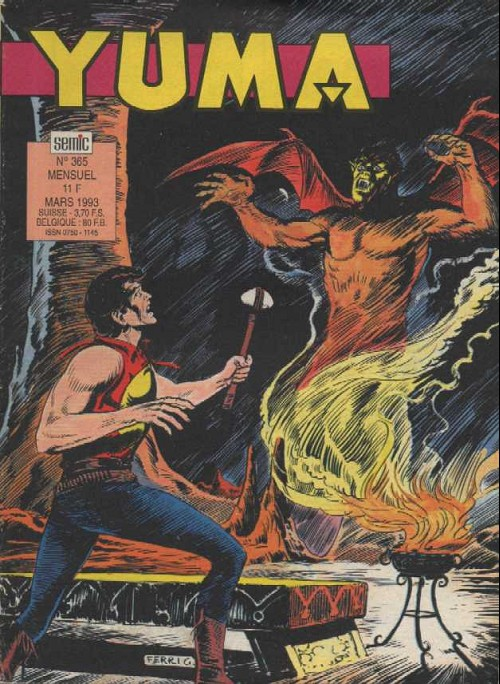 Couverture de Yuma (1re série) -365- Cauchemars (2)