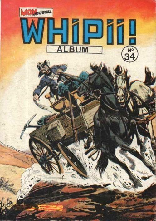 Couverture de Whipii ! (Panter Black, Whipee ! puis) -Rec34- Album N°34 (du n°98 au n°100)