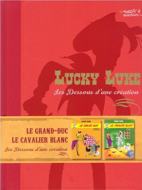Couverture de Lucky Luke - Les Dessous d'une création (Atlas) -8- Le grand duc / Le cavalier blanc