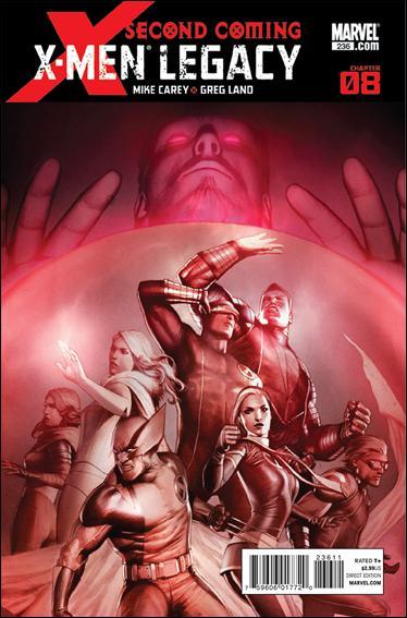 Couverture de X-Men Legacy (2008) -236- Second coming part 08