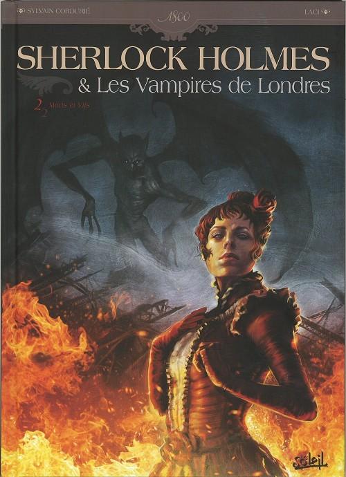Couverture de Sherlock Holmes & Les Vampires de Londres -2- Morts et Vifs