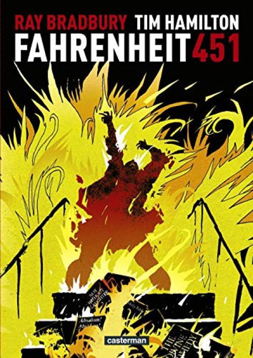 Book'in - Fahrenheit 451 de Ray Bradbury  Couv_110576