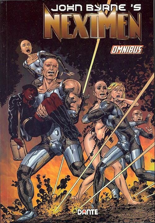 Couverture de Next Men (John Byrne's) -INT1- Omnibus Vol. 1