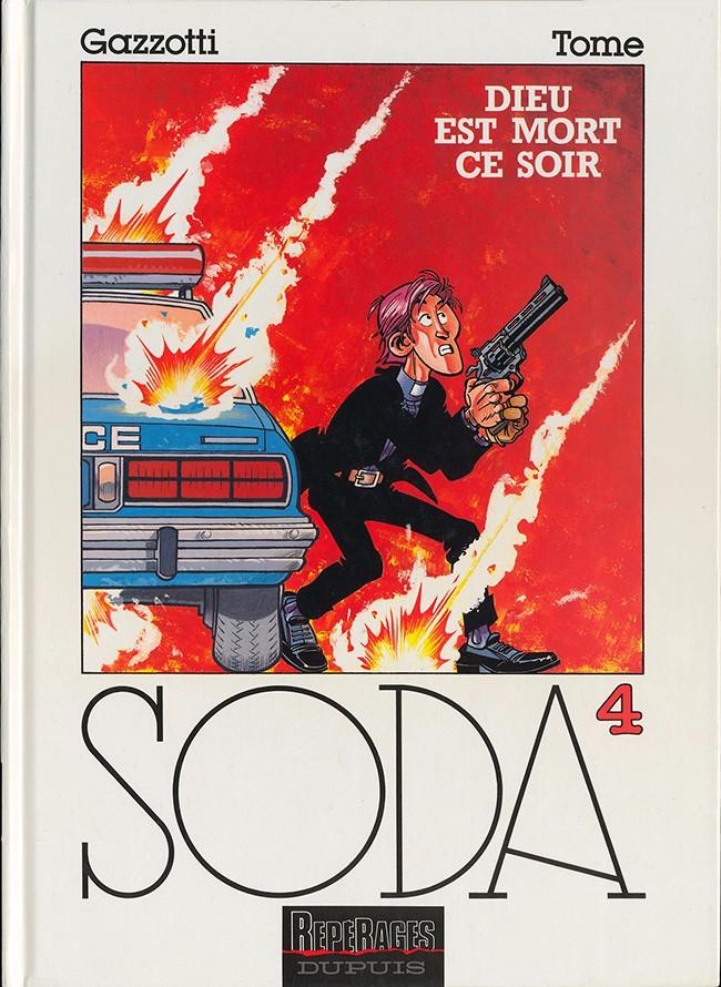 Couverture de Soda -4- Dieu est mort ce soir