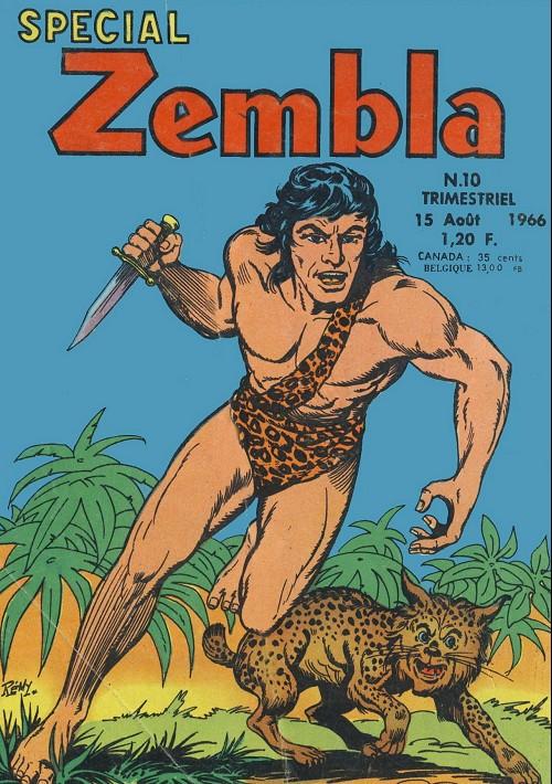 Couverture de Zembla (Spécial) -10- Le roi de Richmond Park