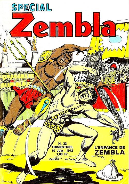Couverture de Zembla (Spécial) -33- L'enfance de Zembla