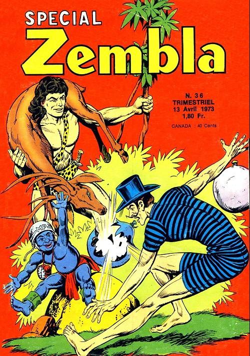 Couverture de Zembla (Spécial) -36- Numéro 36