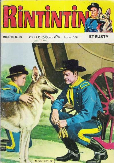 Couverture de Rin Tin Tin & Rusty (2e série) -157- La flèche cheyenne