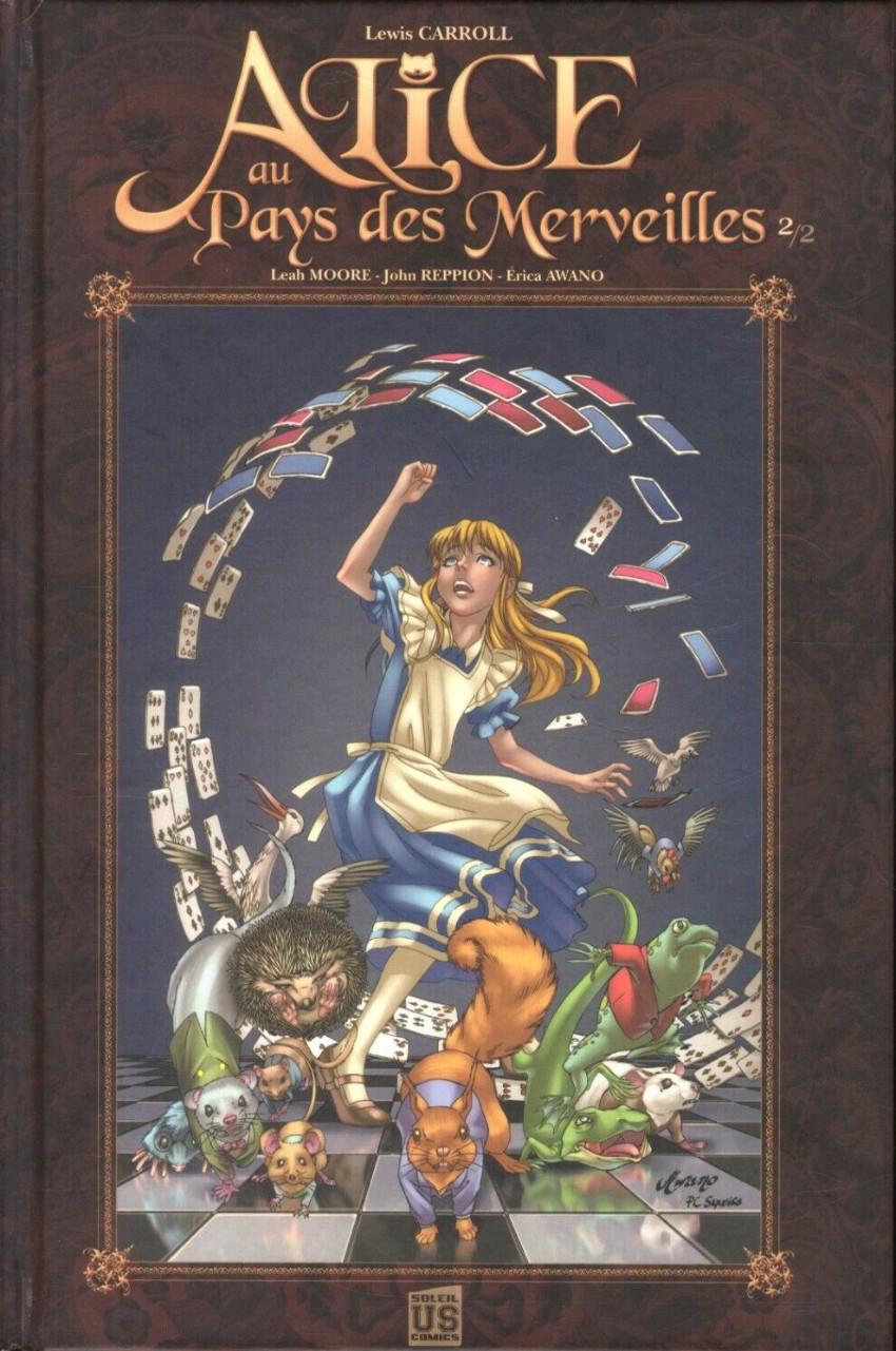 Couverture de Alice au Pays des Merveilles (Awano/Reppion/Moore) -2- De l'autre côté du miroir