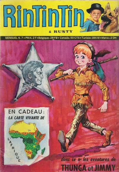 Couverture de Rin Tin Tin & Rusty (2e série) -7- Le météore