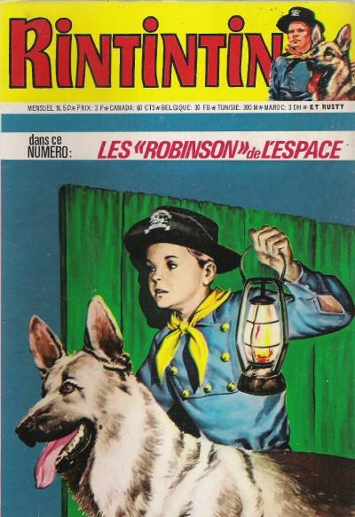 Couverture de Rin Tin Tin & Rusty (2e série) -50- Le gouffre fatal