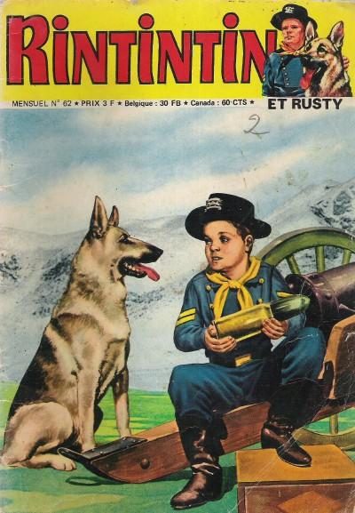 Couverture de Rin Tin Tin & Rusty (2e série) -62- La révolte des comanches