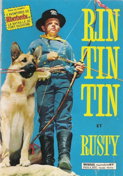 Couverture de Rin Tin Tin & Rusty (2e série) -97- La haine mortelle du capitaine Malcom