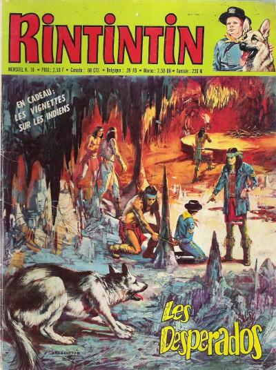 Couverture de Rin Tin Tin & Rusty (2e série) -18- Les desperados