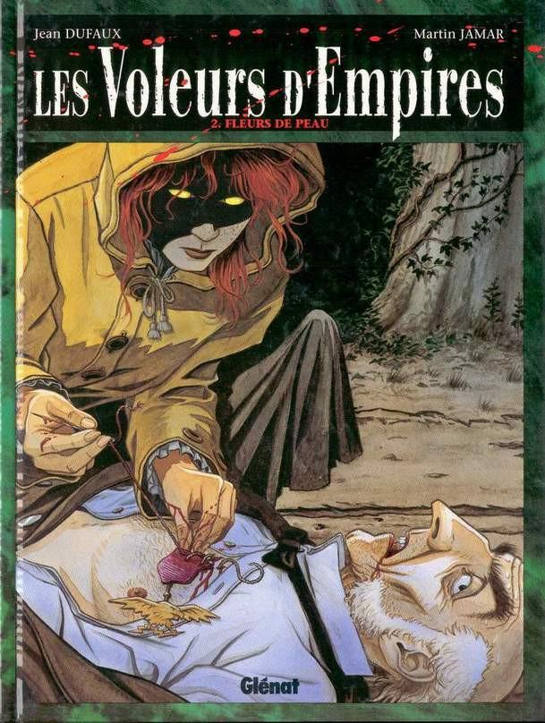Couverture de Les voleurs d'Empires -2- Fleurs de peau