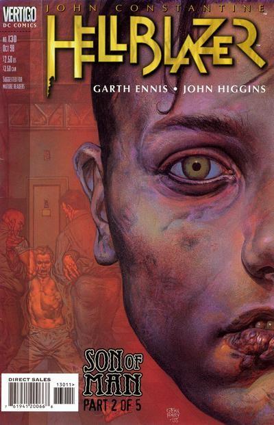 Couverture de Hellblazer (DC comics - 1988) -130- Son of man (part 2 of 5)