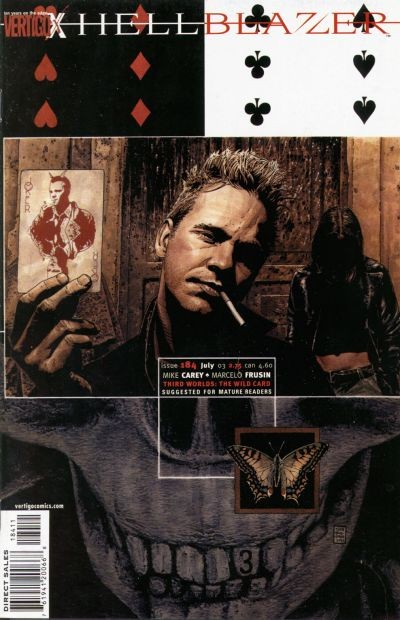 Couverture de Hellblazer (1988) -184- The wild card