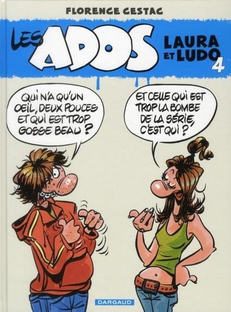 Couverture de Les ados -4- Laura et Ludo 4