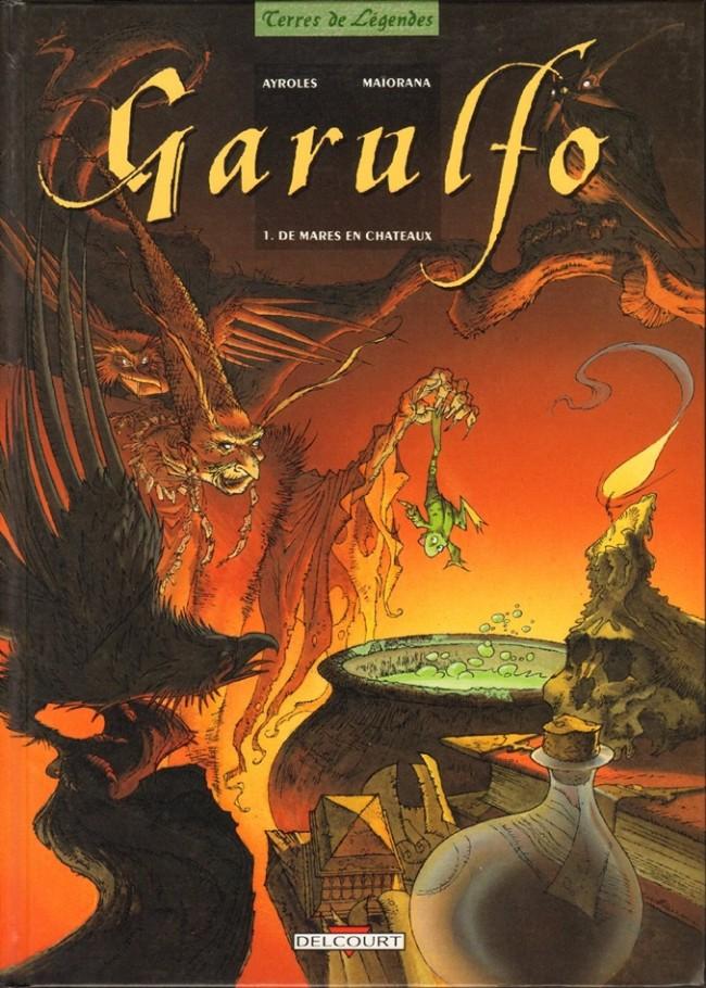 Couverture de Garulfo -1- De mares en châteaux