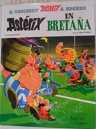 Couverture de Astérix (en espagnol) -8- Astérix en Bretaña