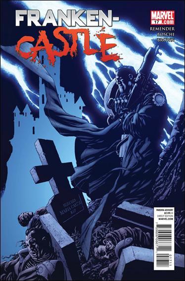 Couverture de Punisher Vol.08 (Marvel comics - 2009) (The) -17- Missing pieces
